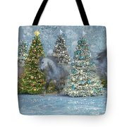 Equine Holiday Spirits Tote Bag