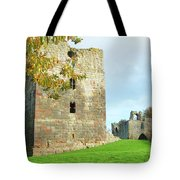 Etal Castle Tower And Gatehouse Tote Bag