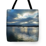 Evening On Windermere In Lake District National Park Tote Bag