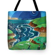 Evening Sea Breezes Tote Bag