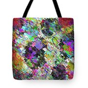 Experiment With Abstract Tote Bag