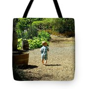 Explore, Edgefield Garden Tote Bag