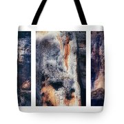 Texture Of Rocks In Canyon   Tote Bag