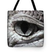Eye Of Alligator Tote Bag