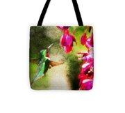 Eye On The Fuchsia Tote Bag