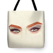 Makeup Art Painting Tote Bag