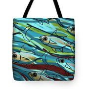 F Is For Fish Tote Bag