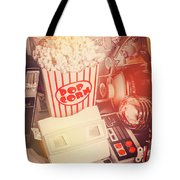 Faded Flashback Tote Bag