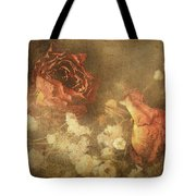 Faded Rose Tote Bag by Keith Smith
