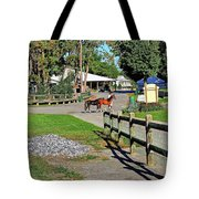 Fairgrounds In Rhinebeck New York Tote Bag