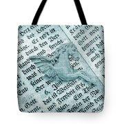 Fairytale Theme With Pegasus Horse Tote Bag