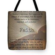 Faith 6976 Tote Bag
