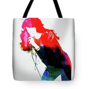 Faith Hill Watercolor Tote Bag
