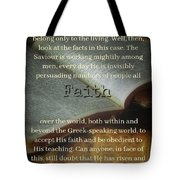 Faith4221 Tote Bag