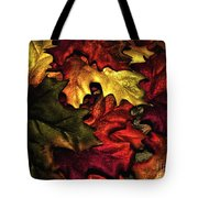 Fall Is On The Ground Tote Bag