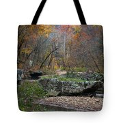 Fall On The Kings River Tote Bag