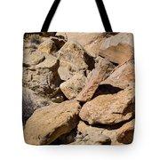 Fallen Sandstone Boulders Tote Bag
