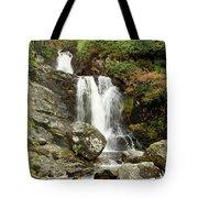 Falls At Inversnaid In Autumn Tote Bag