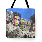 Famous Contemporary Artists Mural Tote Bag