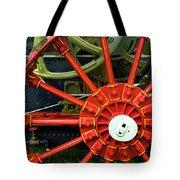 Fancy Tractor Wheel Tote Bag