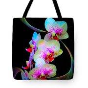 Fantasy Orchids In Full Color Tote Bag