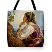 Far Away Thoughts Tote Bag