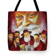 Farbrengen With The Rebbe Tote Bag
