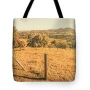Farm Fields Of Eumundi, Sunshine Coast Tote Bag