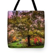 Farm In The Blue Ridge Smoky Mountains Tote Bag