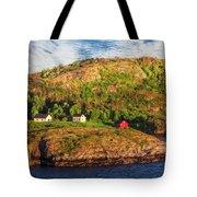 Farm On The Edge Tote Bag