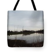 Farm Pond Tote Bag