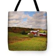 Farmland In Autumn Tote Bag