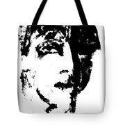 Fashion Male Model Portrait Tote Bag