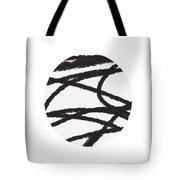Fastball 2- Modern Art By Linda Woods Tote Bag