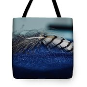 Feather Tote Bag by Ann E Robson