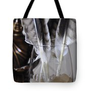 Feathers 3 Tote Bag