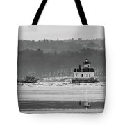 February Morning At Esopus Light Tote Bag