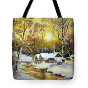 Feerie Winter Tote Bag
