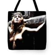 Female Christ Tote Bag