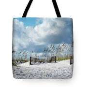 Fences In The Sand Tote Bag