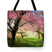Cherry Orchard Afternoon Tote Bag
