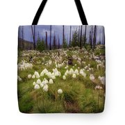 Field Of Bear Grass Tote Bag