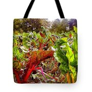 Field Of Chard Tote Bag