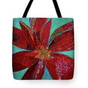 Fiery Bromeliad I Tote Bag