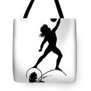 Figure Lifting Dumbbell, Illustration For Gottliche Jugen Ein Tag Aus Dem Sonnenlande Tote Bag