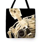 Film Is Dead Tote Bag