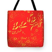 Fire Birds Tote Bag