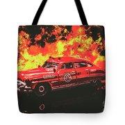 Fire Hornet Tote Bag