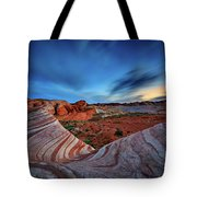 Fire Wave Iv Tote Bag