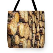 Firewood  Tote Bag by Nick Bywater